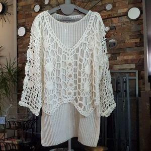 Sweaters - Beautiful see through sweater